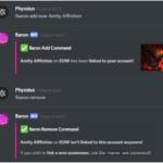 Baron – lol discord bot