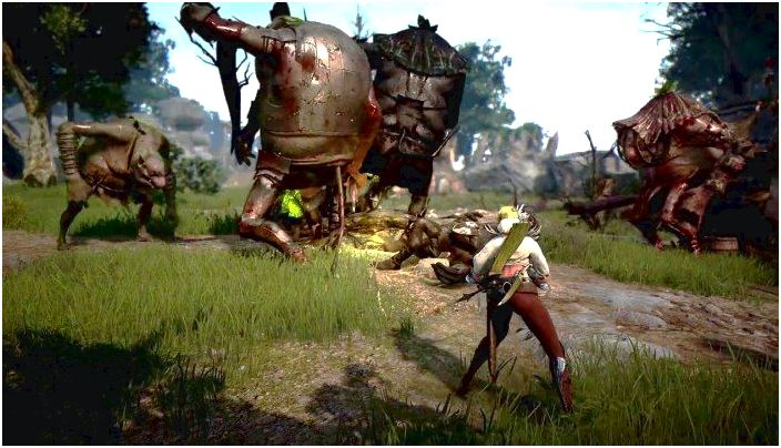 Black desert online could arrived at xbox one, ps4 was there at GamesCom, so