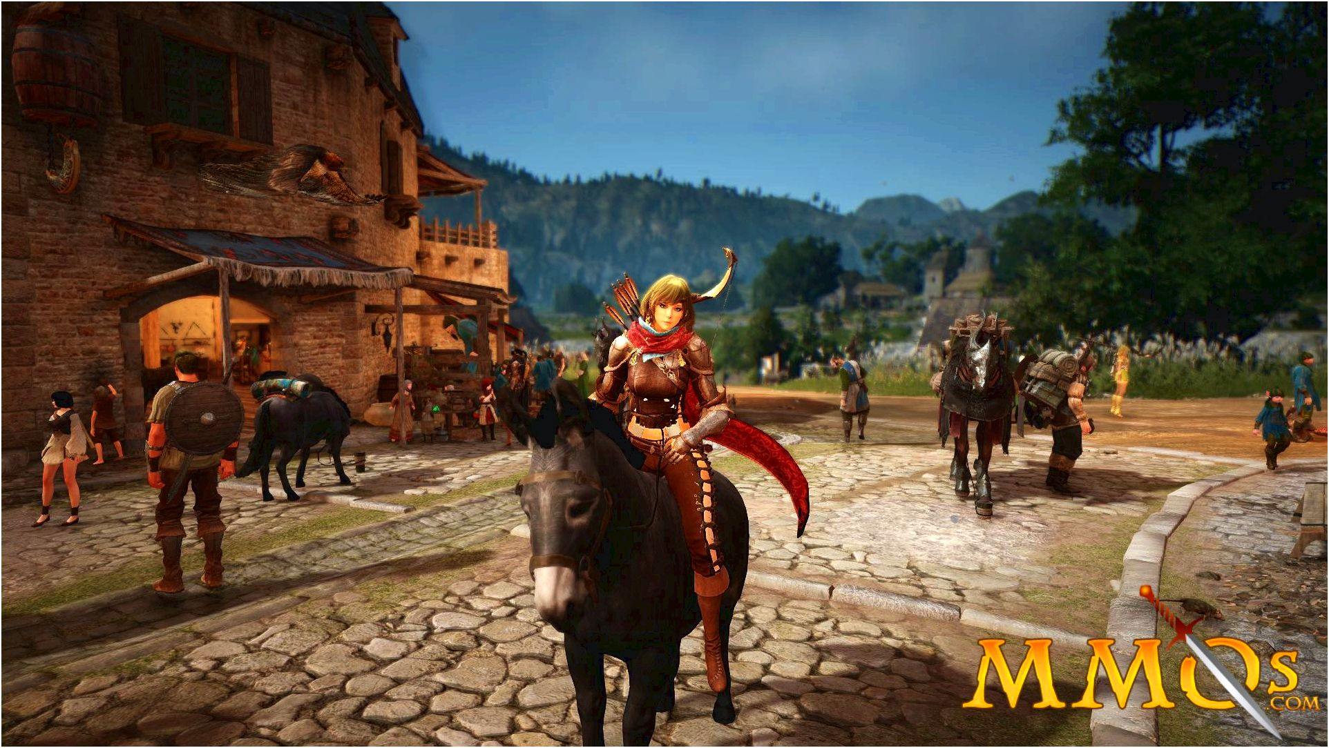 Black desert online - mmog.com from the