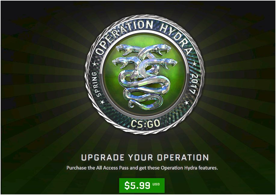 Cs:go - operation hydra surgical procedure Journal which