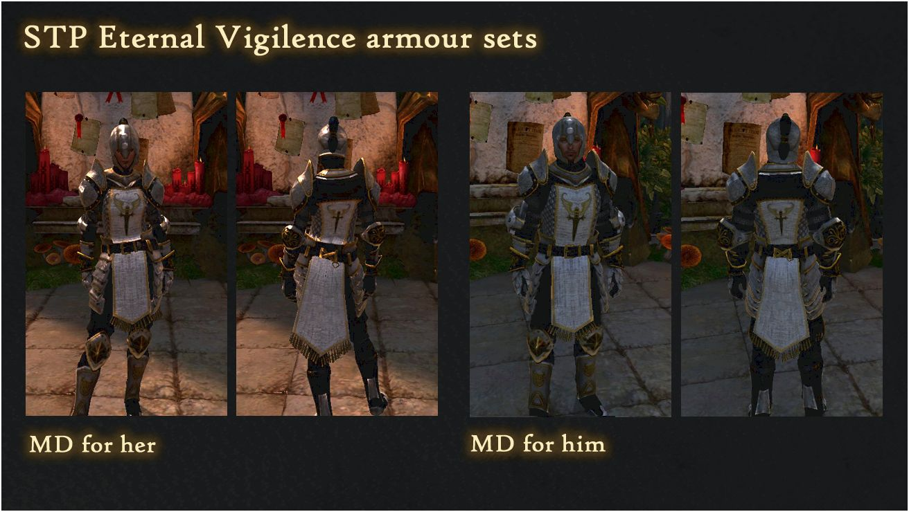 Dragon dark night armour pack at dragon age 2 nexus - mods and community Warden Armour Pack V2