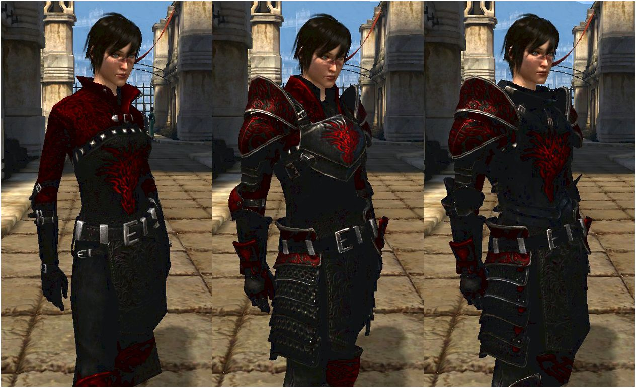 Dragon dark night armour pack at dragon age 2 nexus - mods and community Should you choose