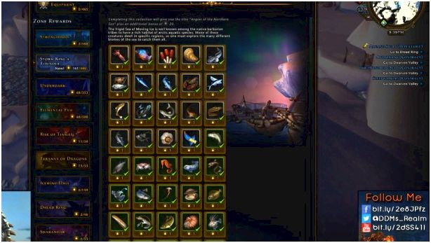 Fish Collection in the Sea of Moving Ice in Neverwinter