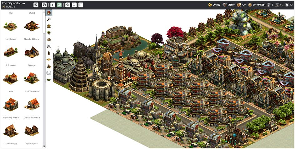 Foe city planner - city planning tool for forge of empires game To cancel choice of