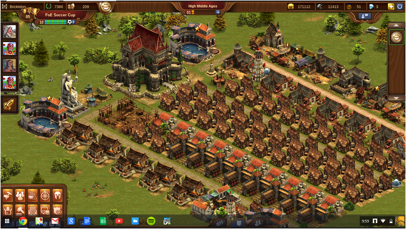 Foe city planner - city planning tool for forge of empires game collections for production