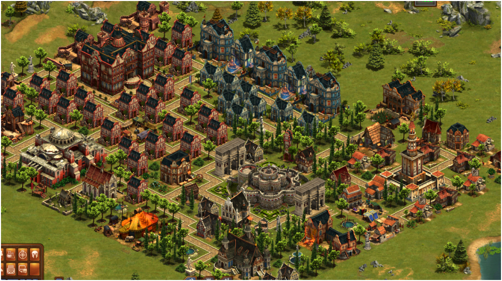 Foe city planner - city planning tool for forge of empires game of  the screen