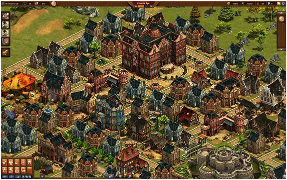 Forge of empires as well as an impressive