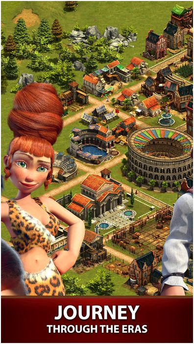 Forge of empires around the application store However, some game features may
