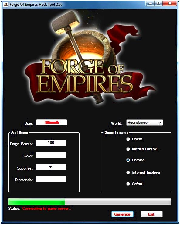 Forge of empires hack [2017] online gemstone generator, no download We feel by looking into