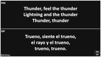 Imaginedragons – thunder lyrics saying you