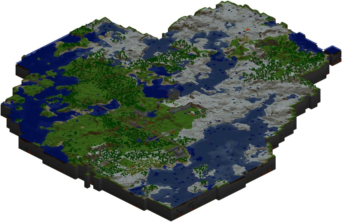 Minecraft maps the sport from