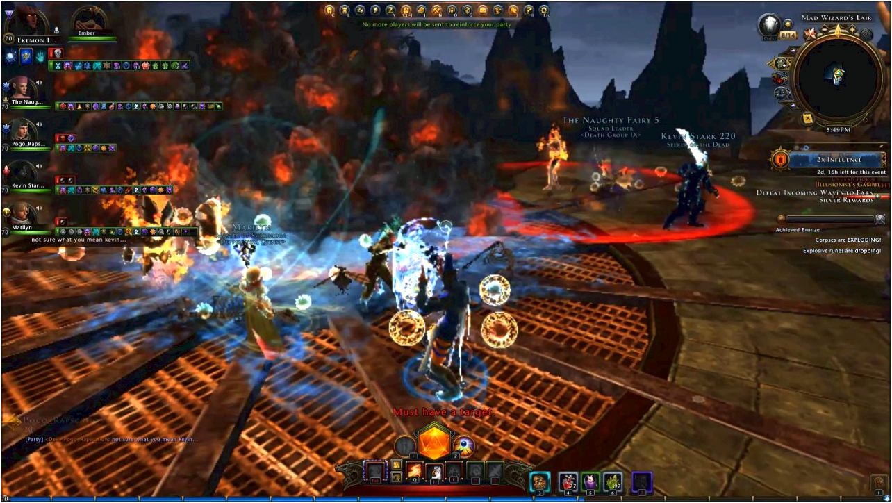 Neverwinter (game) - giant explosive device The sport was proven