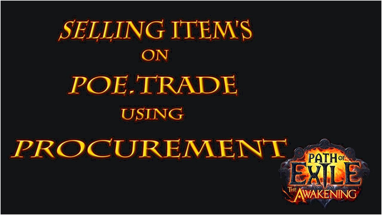Poe goods Understand how to enhance the